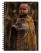 Maasai Boy Spiral Notebook