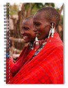 Maasai Women Spiral Notebook