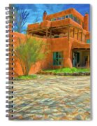 Mabel Dodge Luhan House As Oil Spiral Notebook