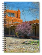 Mabel's Courtyard Spiral Notebook