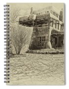 Mabel's House As Antique Print Spiral Notebook