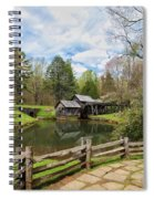 Mabry Mill In The Spring Spiral Notebook