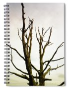 Macabre Leafless Tree Spiral Notebook