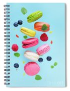 Falling In Love With Macaroons  Spiral Notebook