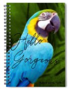 Macaw Quote Spiral Notebook