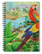 Macaws Spiral Notebook