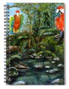 Macaws Spiral Notebook
