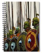 Macedonian Phalanx Spiral Notebook