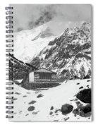 Machhapuchchhre Base Camp - The Himalayas Spiral Notebook