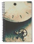 Machine Time Spiral Notebook