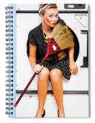 Machine Wash Housewife Spiral Notebook