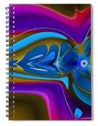 Machined Whorl Spiral Notebook
