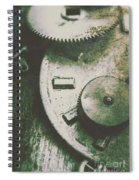 Machinery From The Industrial Age Spiral Notebook