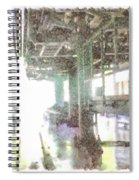 Machinery In A Factory Spiral Notebook