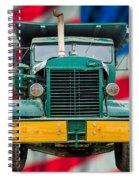 Mack Dump Truck Spiral Notebook