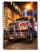 Mack Truck Nyc Spiral Notebook