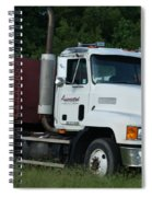 Mack Truck One Of The Legends Spiral Notebook