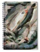 Mackerel Spiral Notebook