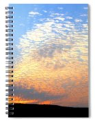 Mackerel Sky Spiral Notebook