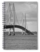 Mackinac Bridge 6111 Spiral Notebook