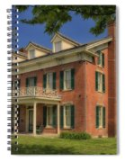 Maclay House Tipton Mo Built In 1858 Dsc01873 Spiral Notebook