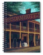 Macomb's Dam Hotel Spiral Notebook