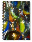 Macro Marbles Spiral Notebook