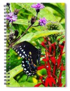 Macro Nature Spiral Notebook