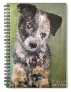 Macy As A Puppy Spiral Notebook