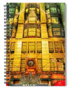 Macy's At Christmas Spiral Notebook