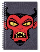 Mad Devil Spiral Notebook
