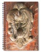 Mad Door Knocker Spiral Notebook