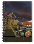 Mad Max Creater Motorcycle Spiral Notebook