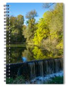 Mad River Waterfall Spiral Notebook