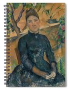 Madame Cezanne In The Conservatory Spiral Notebook