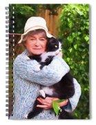 Madame Et Cookie Spiral Notebook