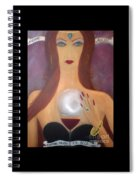 Madame Malbec Fortune Favors The Bold Spiral Notebook