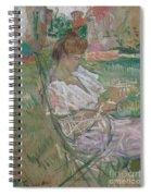 Madame Misia Natanson Spiral Notebook