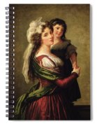 Madame Rousseau And Her Daughter Spiral Notebook