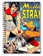 Madame Strange Comic Super Hero Spiral Notebook