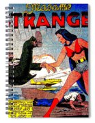 Madame Strange Female Comic Super Hero Spiral Notebook
