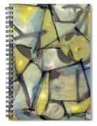 Madcap Light Spiral Notebook