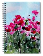Maddy's Poppies Spiral Notebook
