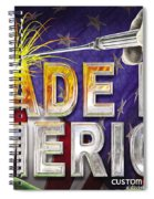 Made In America Spiral Notebook