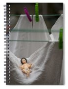 Made In China Baby Jesus Spiral Notebook