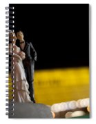 Made In China Bride And Groom Spiral Notebook