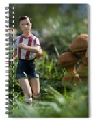 Made In China Soccer Player Spiral Notebook