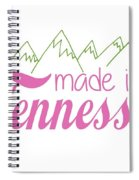 Made In Tennessee Pink Spiral Notebook