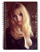 Madeline Smith, Vintage Actress Spiral Notebook