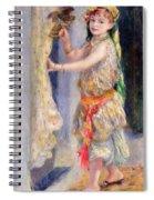 Mademoiselle Fleury In Algerian Costume Spiral Notebook
